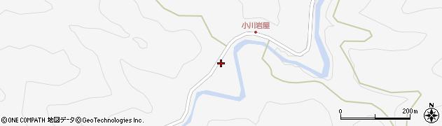 大分県佐伯市本匠大字小川1340周辺の地図