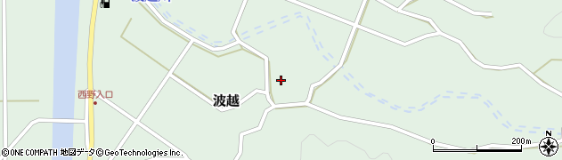 大分県佐伯市堅田4133周辺の地図