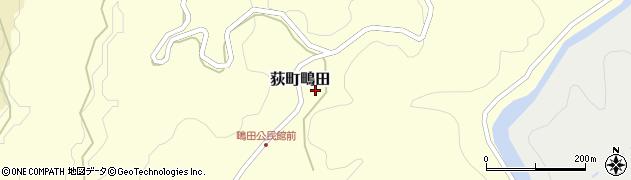 大分県竹田市荻町鴫田6759周辺の地図