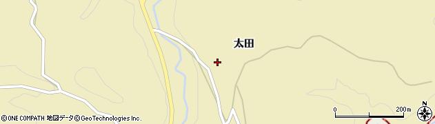 大分県竹田市太田2323周辺の地図