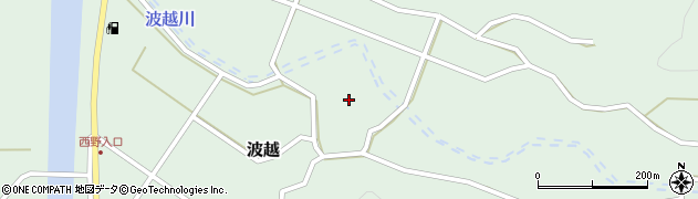 大分県佐伯市堅田4130周辺の地図