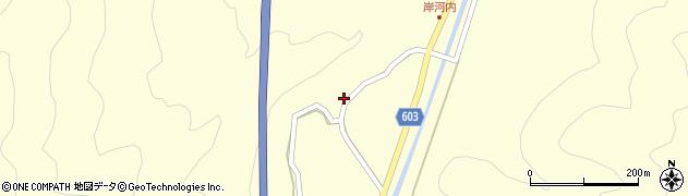 大分県佐伯市長谷4132周辺の地図