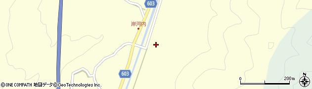 大分県佐伯市長谷2325周辺の地図