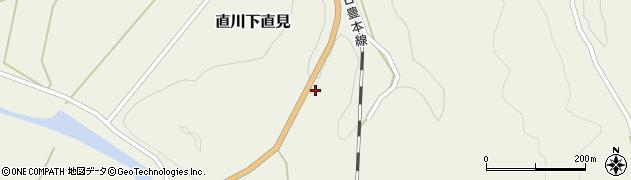 大分県佐伯市直川大字下直見4268周辺の地図