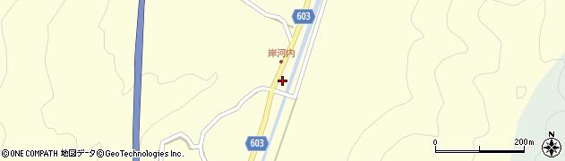 大分県佐伯市長谷4060周辺の地図