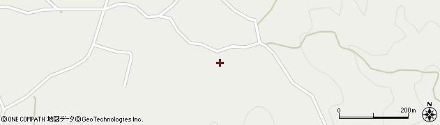 大分県佐伯市木立3695周辺の地図