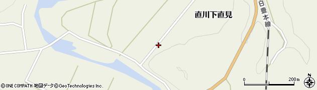 大分県佐伯市直川大字下直見4479周辺の地図