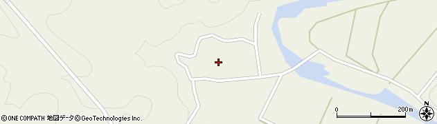 大分県佐伯市直川大字下直見433周辺の地図