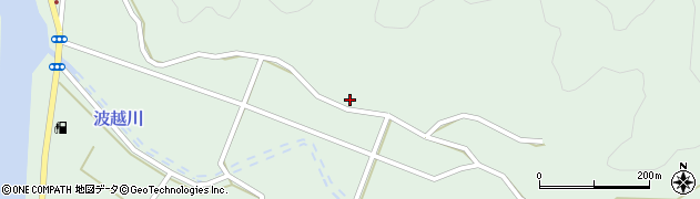 大分県佐伯市堅田4996周辺の地図