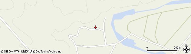 大分県佐伯市直川大字下直見838周辺の地図
