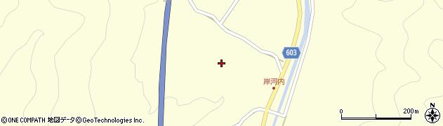 大分県佐伯市長谷4013周辺の地図