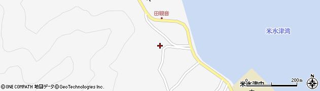 大分県佐伯市米水津大字浦代浦1288周辺の地図