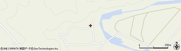 大分県佐伯市直川大字下直見841周辺の地図
