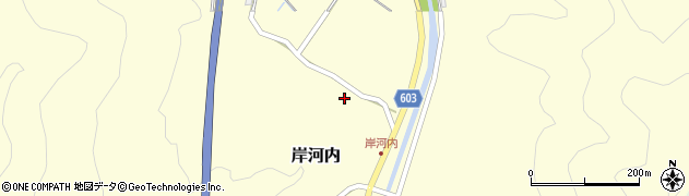 大分県佐伯市長谷4044周辺の地図