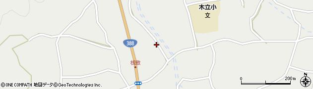 大分県佐伯市木立4419周辺の地図