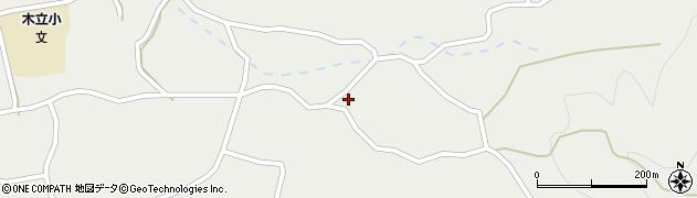 大分県佐伯市木立3676周辺の地図