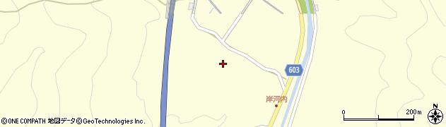 大分県佐伯市長谷4006周辺の地図