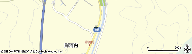 大分県佐伯市長谷3630周辺の地図