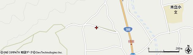 大分県佐伯市木立1385周辺の地図