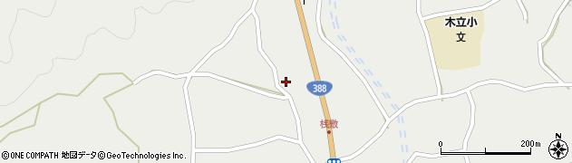 大分県佐伯市木立1430周辺の地図