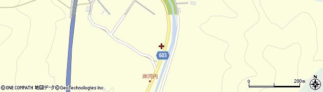 大分県佐伯市長谷3629周辺の地図