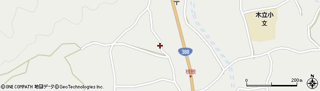 大分県佐伯市木立1428周辺の地図