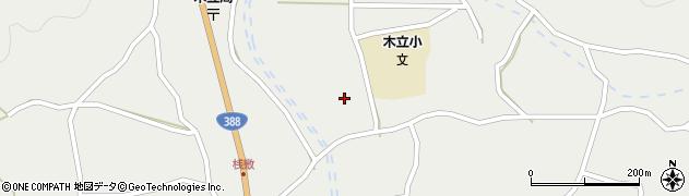 大分県佐伯市木立4429周辺の地図