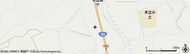 大分県佐伯市木立1431周辺の地図