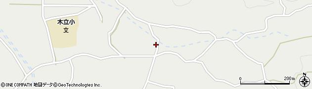 大分県佐伯市木立3644周辺の地図