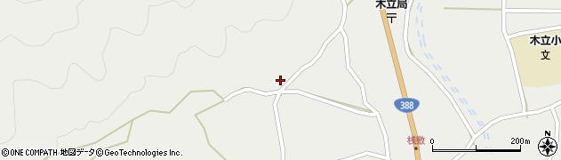 大分県佐伯市木立1063周辺の地図