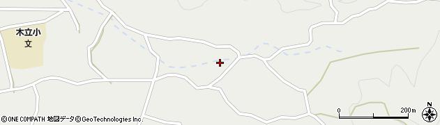 大分県佐伯市木立4165周辺の地図