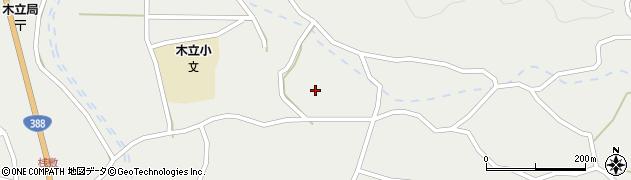 大分県佐伯市木立3633周辺の地図