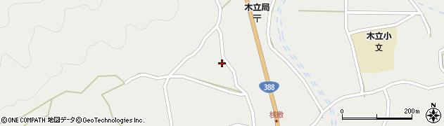 大分県佐伯市木立1418周辺の地図