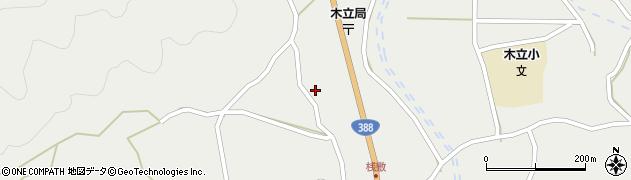 大分県佐伯市木立1426周辺の地図