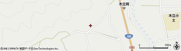 大分県佐伯市木立1062周辺の地図