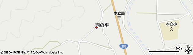 大分県佐伯市木立1392周辺の地図