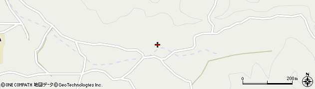 大分県佐伯市木立4220周辺の地図