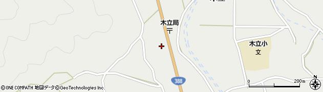 大分県佐伯市木立1416周辺の地図