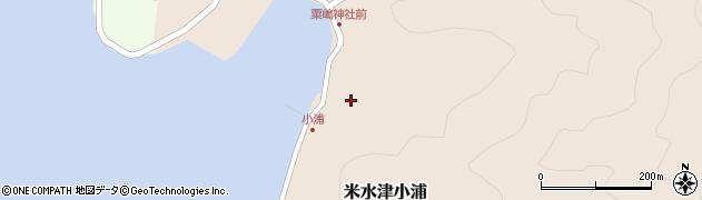 大分県佐伯市米水津大字小浦452周辺の地図