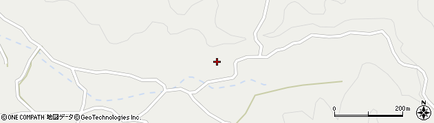 大分県佐伯市木立3945周辺の地図
