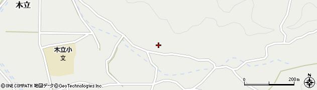 大分県佐伯市木立4195周辺の地図