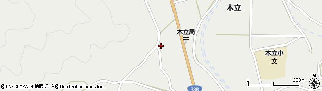 大分県佐伯市木立1394周辺の地図