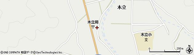 大分県佐伯市木立1403周辺の地図