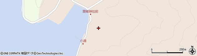 大分県佐伯市米水津大字小浦437周辺の地図
