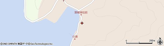大分県佐伯市米水津大字小浦420周辺の地図