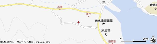 大分県佐伯市米水津大字浦代浦1205周辺の地図