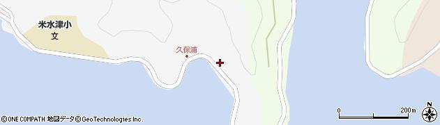 大分県佐伯市米水津大字浦代浦9周辺の地図