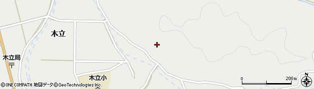 大分県佐伯市木立4355周辺の地図