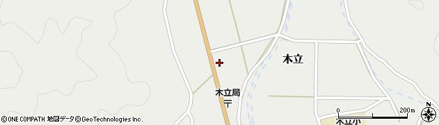大分県佐伯市木立921周辺の地図