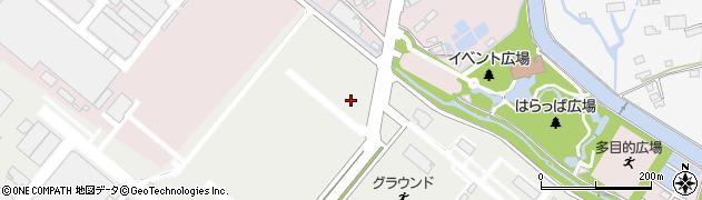 熊本県長洲町(玉名郡)有明周辺の地図